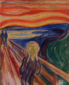 جیغ از مشهورترین نقاشیهای دنیا